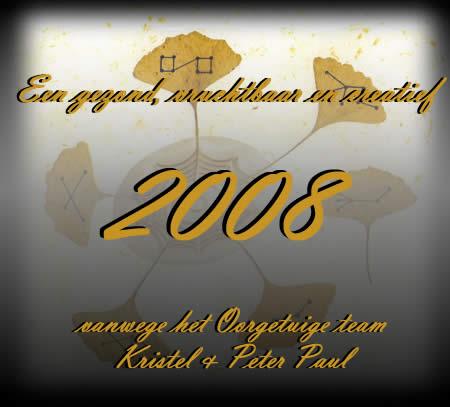 Beste wensen voor 2008